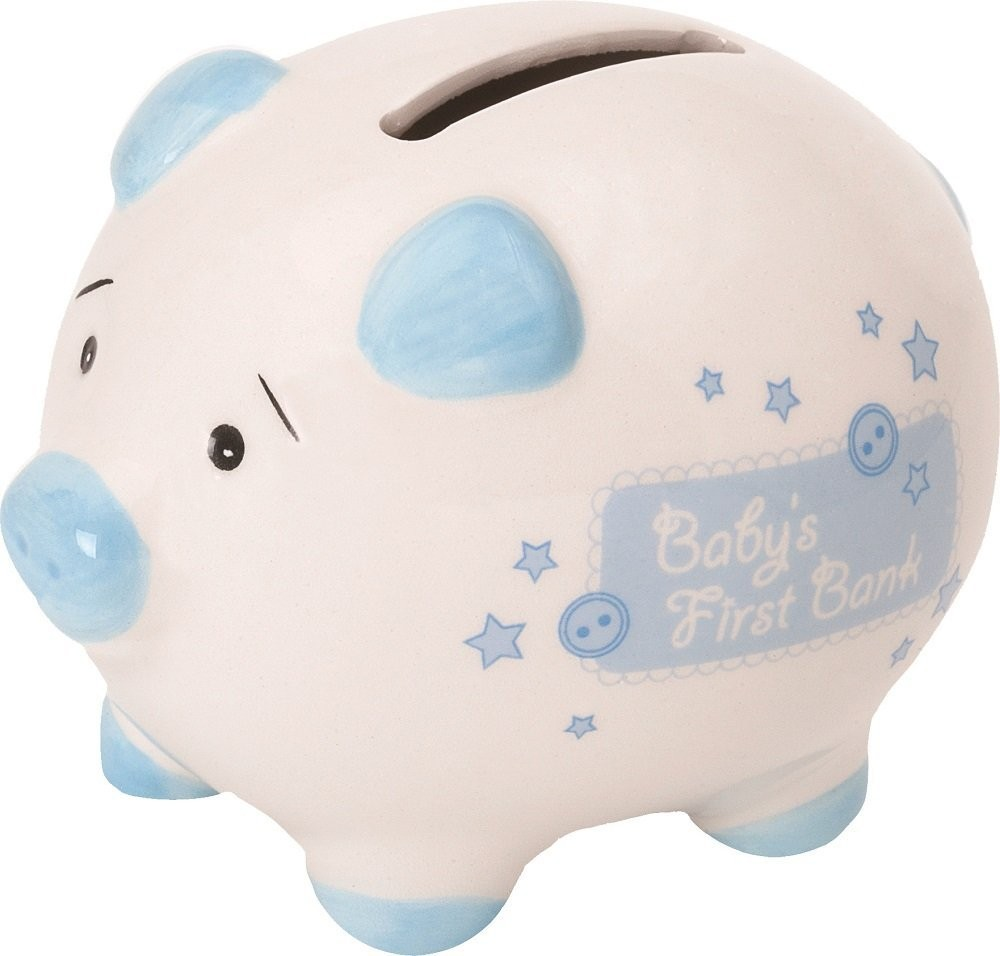 Baby Gift Piggy Bank : Suki baby babys first small piggy bank ceramic
