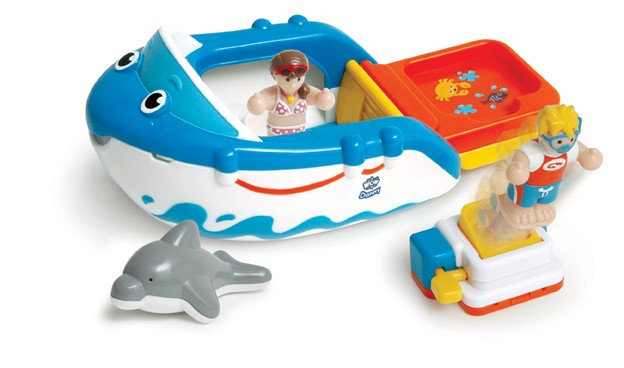 Danny's Diving Adventure WOW bath toy