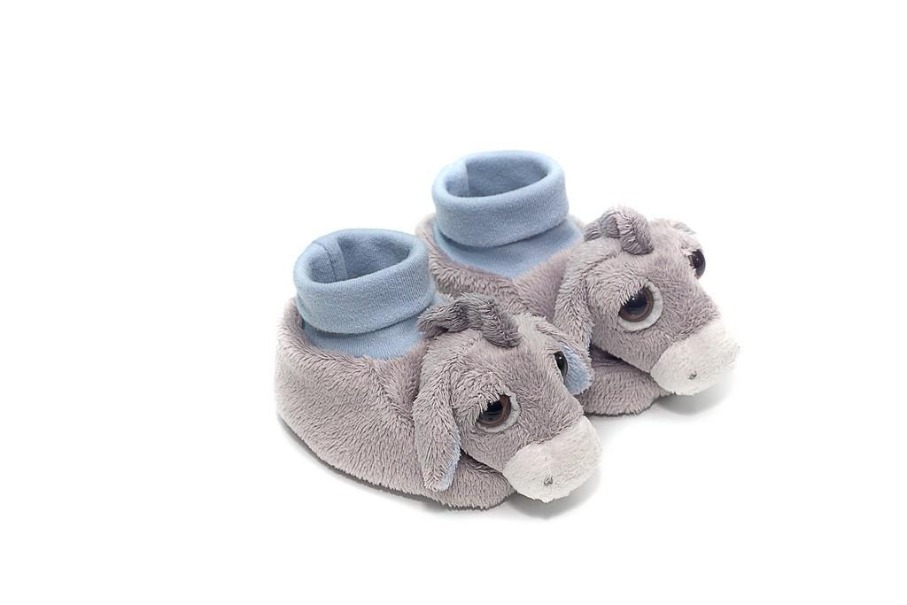 Donkey slippers by Suki Gifts