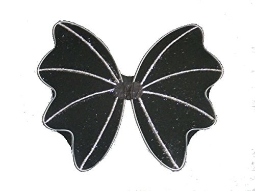 Pair of Black Bat Wings With Glitter