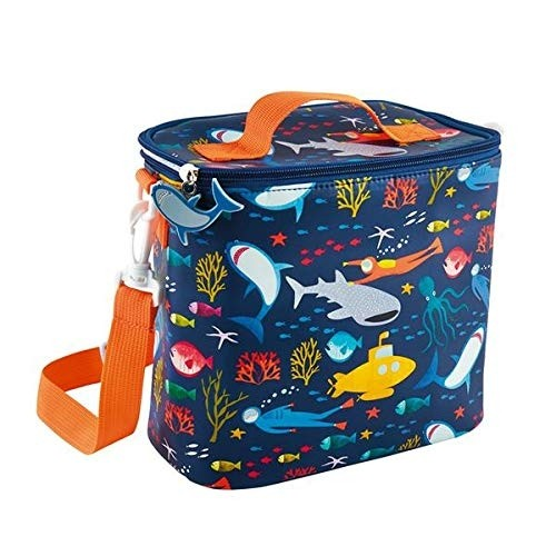 Insulated Lunch Bag with Detachable Strap & Drinks Holder  - Two designs