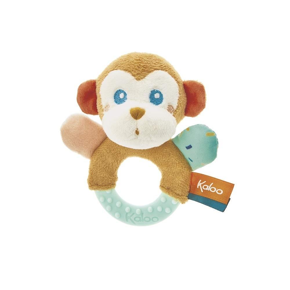 Kaloo Jungle Teething Rattle Sam Monkey or Alban Toucan