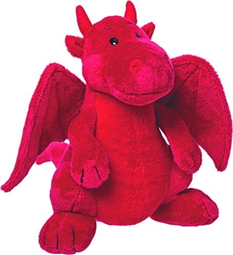Suki Gifts 14444 Roary Dragon Cuddly Toy Red