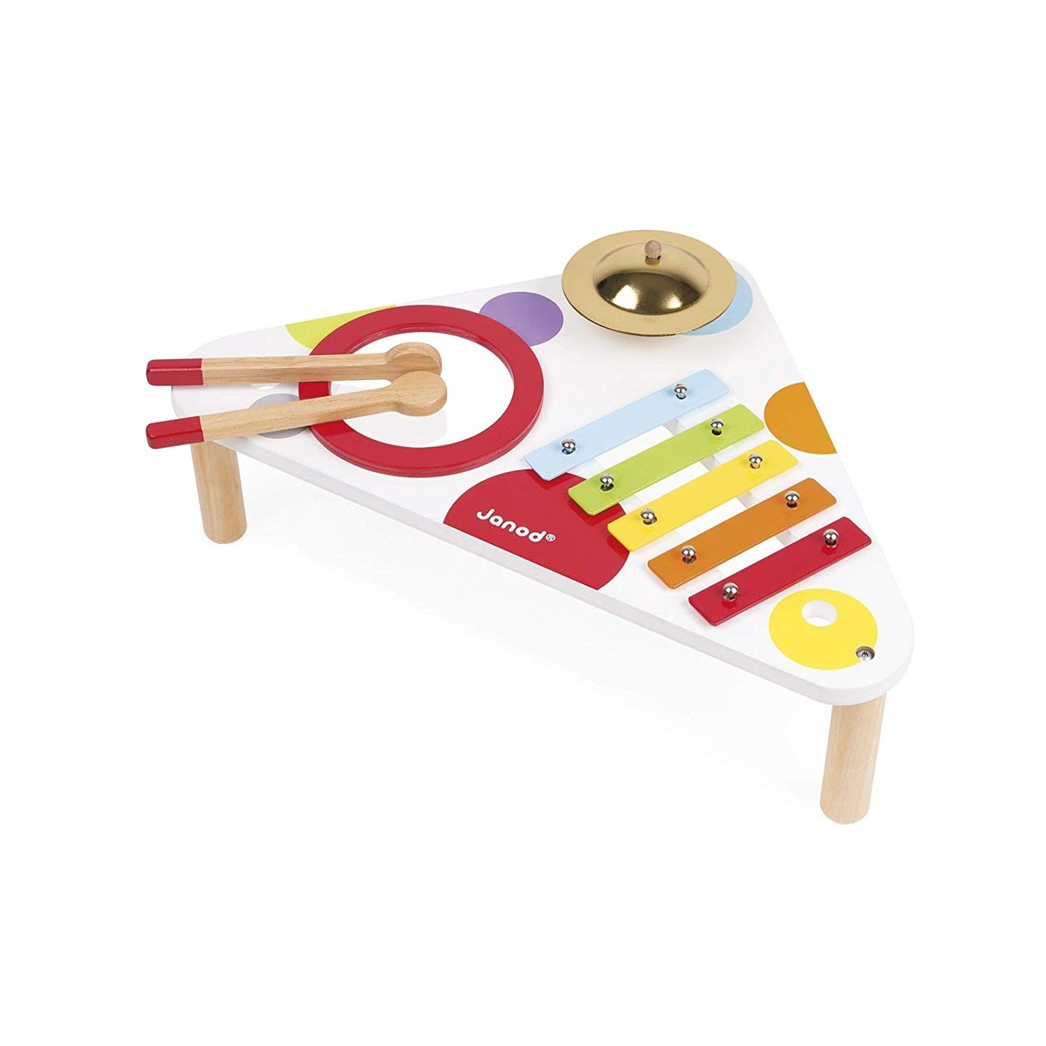 Janod J07634 Confetti Musical Table Game