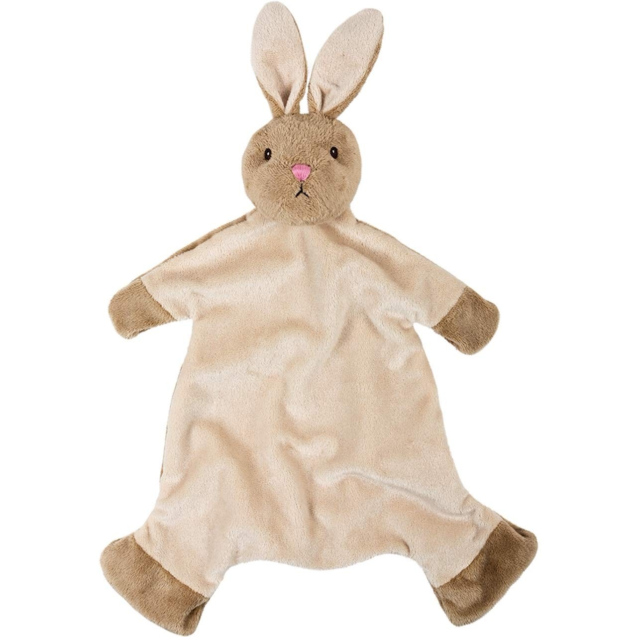 Suki Gifts International Suki Baby Bobtail Bunny Bobblehead Blanket