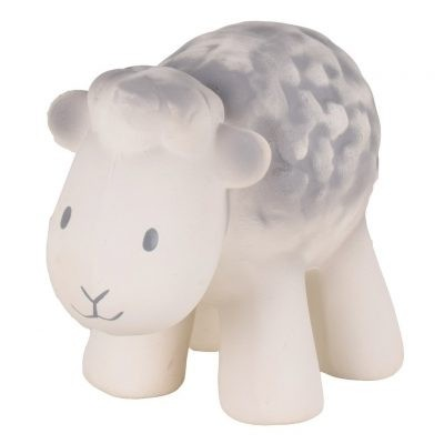 My First Tikiri Farm Natural Rubber Rattle & Bath Toy Farm Animals