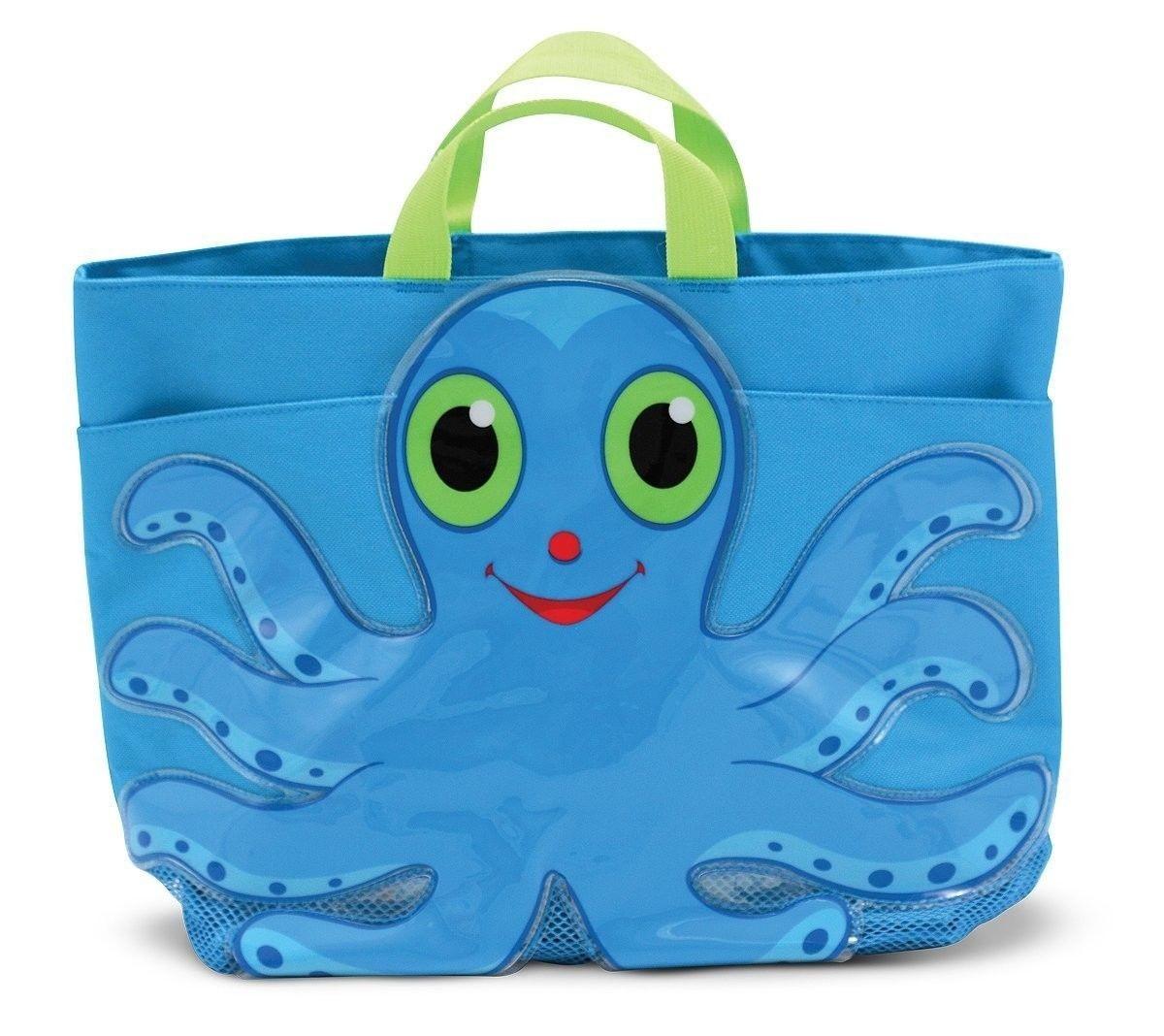 Melissa and doug flex Octopus Tote Beach Bag