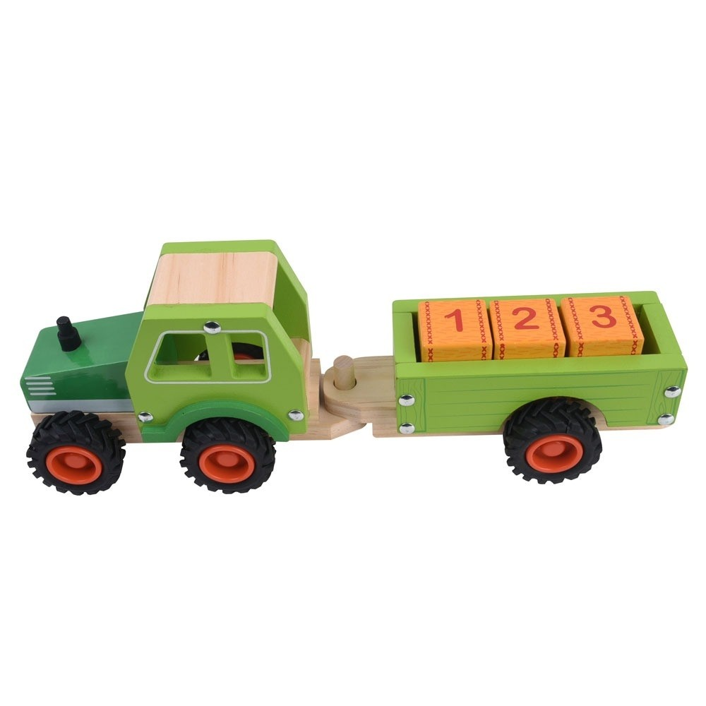 Jumini Tractor and Trailer for ages two upwards