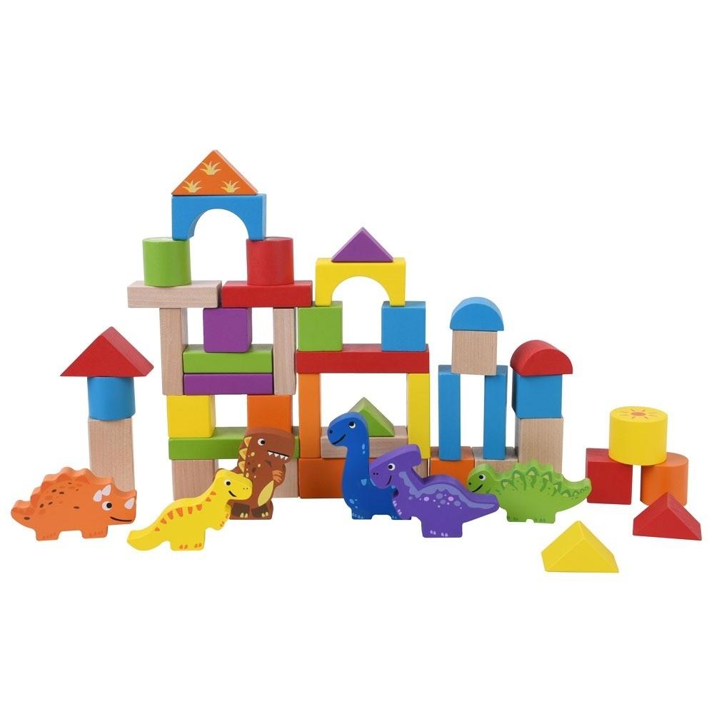 Jumini 50pcs Dinosaur Building Blocks Set for ages 1 upwards