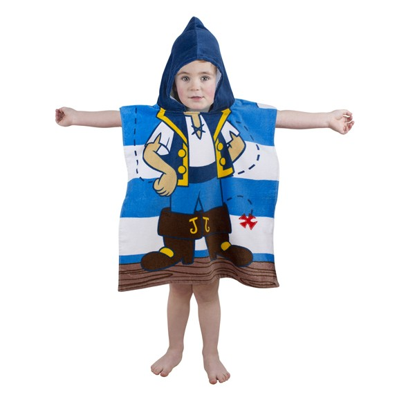 Jake And The Never land Pirates 'Doubloons' Poncho Toddler Towel