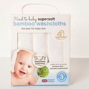Supersoft  Bamboo Washcloths By Cuddledry