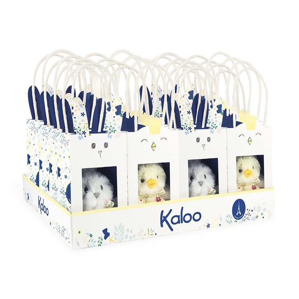 Kaloo Rabbit in a bag/Chick in a bag