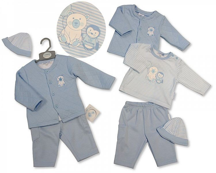 My Little Chick Quilted 3 Piece Set newborn to 6 months