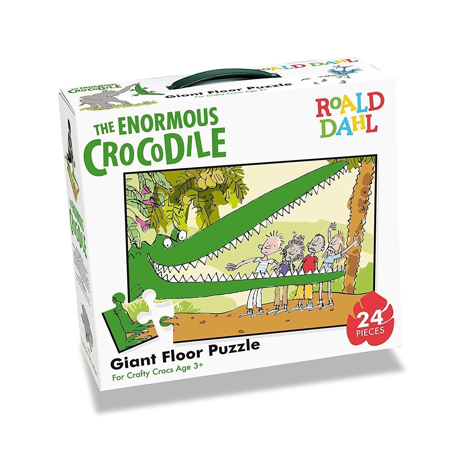 Roald Dahl The Enormous Crocodile Floor Puzzle