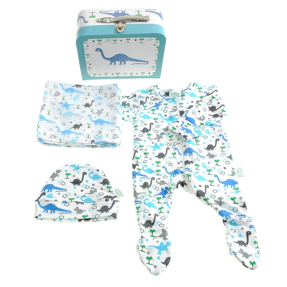 Ziggle Uptown Dinosaur Suitcase Gift Set