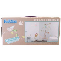 Fun To see wall stickers with woodland theme