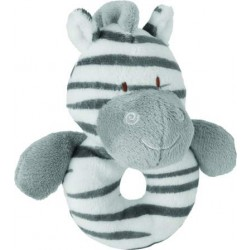 Zooma Zebra Rattle by Suki Gifts