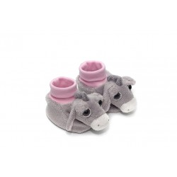 Baby Girl's Donkey Slippers by Suki