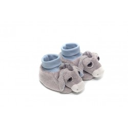 Donkey slippers by Suki Gifts