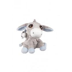 Suk Gifts i li'l Peepers mother and baby donkey plush toy