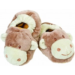 Suki Gifts Baby Jungle Booties -Ezzy elephant, Zooma Zebra, Mojo monkey and Bing Bing Giraffe