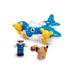 Police Plane Pete by  WOW Toys