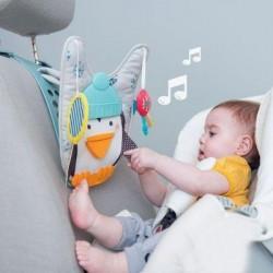 Taf Toys Play &  Kick Penguin Car Toy Travel Activity Centre