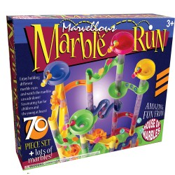 70 Piece marble Run from House of Marbles