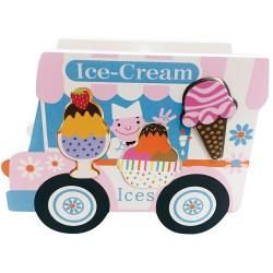House of Marbles wooden Ice-cream Van Shape Sorter
