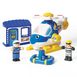 Oscar The Police Copter by WOW Toys