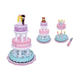 jumini Wooden 4 In 1 Celebration Cake