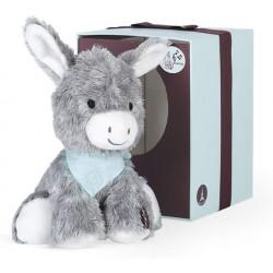 Kaloo K963140 Les Amis Musical Plush Toy 25 cm / 9.8'', Régliss' Donkey