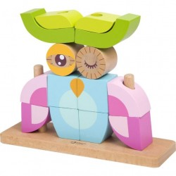 Classic World Wooden Blocks Set Owl or Fox