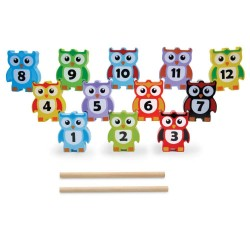 Jumini - Wooden Stacking Owls