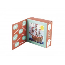 Floss & Rock Wooden Mix & Match Blocks  -Pirates , Mermaids or Characters