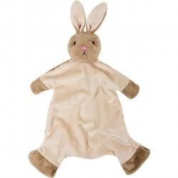 Suki Gifts International Suki Baby Bobtail Bunny Bobblehead Blanket
