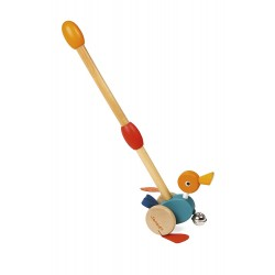 Janod Duck-n-Roll Push Along Toy