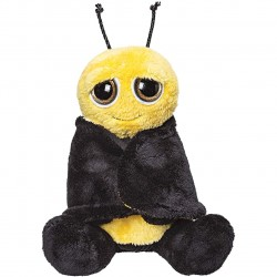 SUKI Buzz Buzz Bee soft toy with big eyes and eye catching wings