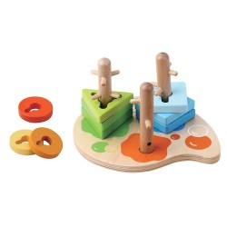 Children's Wooden Toy Peg Puzzle by jumini ®