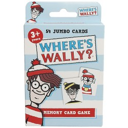 Where's Wally Card Game by Paul Lamond