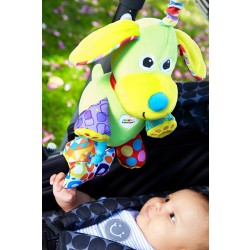 Lamaze Pupsqueak Clip On Pram and Pushchair Baby Toy