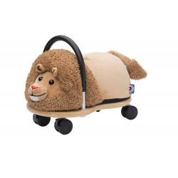 Wheelybug Plush Ride On Toy with Multi Directional Castors (Lion)