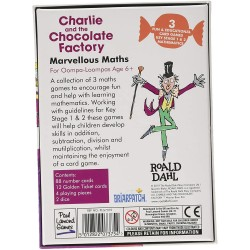 Roald Dahl 7375 Charlie and The Chocolate Factory Marvellous Maths Game,