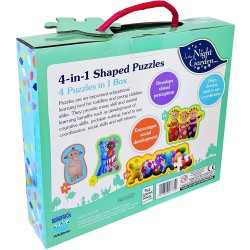 In the Night Garden 4 in 1 Shaped Puzzles