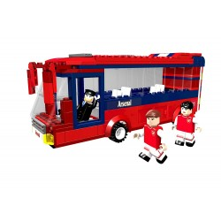 Paul Lamond Nanostars  Team Bus 267 Piece 3D Puzzle Set - Arsenal/Barcelona/Chelsea/Liverpool
