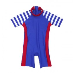 Baby Boy's sun safe suit with SPF50 by Pesci Kids