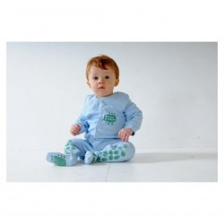 Creeper Crawlers Easy Crawl Suit  , pink, blue or mint
