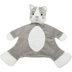 Cuddle Tots Blankie -Hector Dog,Millie Cat,Bubbles Hippo by Suki Gifts