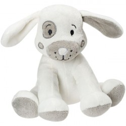 Cuddle Tots Hector Dog Medium With Rattle - SUKI Gifts
