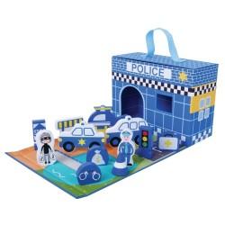 Jumini foldaway Toys - Police Station, Zoo or Unicorn Castle
